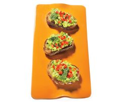 #FatBuring snack. Edamame Bruschetta. Talk about a slimming combo: Its protein may rev calorie burn, and its fiber keeps you satiated
