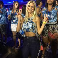 Look de blogueiras brasileiras no carnaval 2015 ! www.allani.com.br veja mais no - > www.popday.com.br Lala Rudge