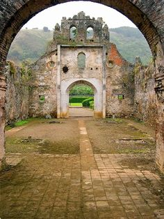 Ruins of Ujarrás, Costa Rica, Photo Andres Madrigal