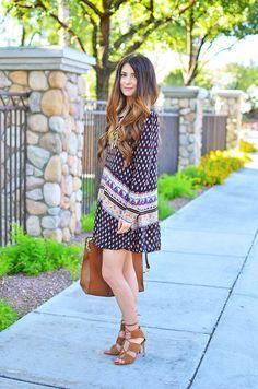 Bohemian Style // A sweet boho outfit.