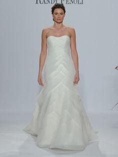 f4740ae203 Randy Fenoli Spring 2018  Shimmering Wedding Dresses Make a Glamorous  Statement