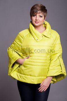 """Куртка """"Пончо"""" - Женская одежда оптом"""