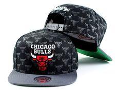 cheap for discount 0f31b 83b4b Mitchell   Ness Chicago Bulls NBA Repeat Logo Adjustable Snapback Hat,   29.99