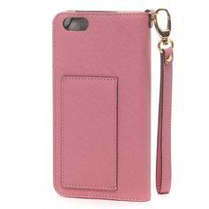 【サマンサタバサ iPhone6 Plusケース(ピンク)】マグネット式で便利なSamantha Thavasa(サマンサ…