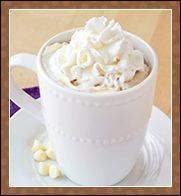 The Top 10 Coffee Shop Swaps from Hungry Girl (1. Truwhip, 2. Toffee Mocha Hotté, 3. Chocolate Coffee Malt, 4. Mocha Coconut Frappuccino, 5. Creamy White Mocha, 6. Caffè Vanilla Frappuccino, 7. Sweet 'n Salty Caramel Cocoa, 8. Cherry Bomb Iced Mocha, 9. Pumpkin Spice Latte, 10. Raspberry Mocha Frappuccino)