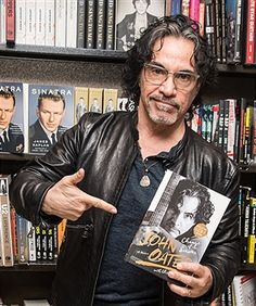 Rock, R&B and soul guitarist, musician, songwriter, record producer John Oates signs copies of his new book 'Change Of Seasons: A Memoir' at Barnes & Noble on March 30, 2017 in Philadelphia, Pennsylvania.