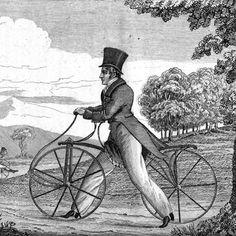 karl von drais - dandy horse 1817