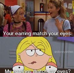Hahaha. Oh Lizzie McGuire