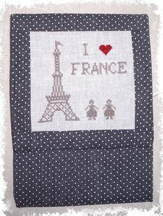 I love France - Mon panier à ouvrages
