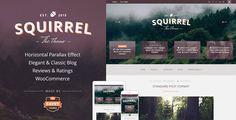 Squirrel - Một Responsive WordPress Blog Theme