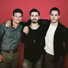 Zach Roerig, Michael Malarkey, Chris Wood at Day 2 for #BloodyNightCon_Spain in Barcelona (06/07/15)