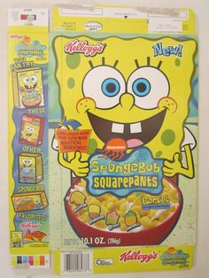 One of my FAVORITE cereals ever! Boy did I love Spongebob at the time, and I REALLY loved this cereal as well! Especially the marshmellows.