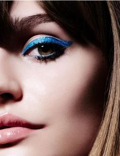 #blue cats eye ~ETS #makeup
