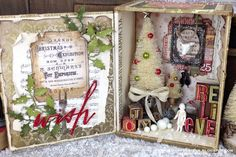 Hello friends! The Tim Holtz Holiday Series continues and the project have been so wonderfully inspiring, I hope you've been over to the T...