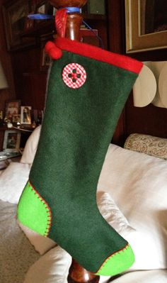 Christmas Stockings, Projects To Try, Sewing, Holiday Decor, Crafts, Jute, Socks, Needlepoint Christmas Stockings, Dressmaking