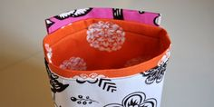 Tutorial – Hanging Fabric Baskets Or Pockets   The Mother Huddle