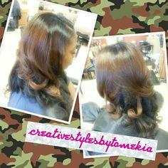 Salon Ramsey Atl ..Contact Mekia @678-379-8587 follow me on instragram@creativestylesbytomekia