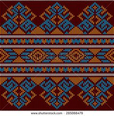 Wayuu Mochila pattern Abstract Tribal Aztec Seamless Pattern. Geometry Vector…