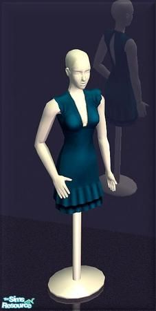 Mannequin displaying the latest in store fashions. Found in TSR Category 'Objects' Sims 2, Types Of Themes, Mannequin Display, Sims Community, Moving Pictures, My Boutique, 1930s, Shopping, Clothes