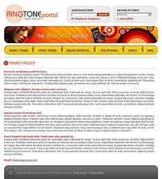 Media Content Website Templates by Delta