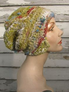 And The Glitter is Gone freeform crochet hat OOAK by girlwithahook, $100.00