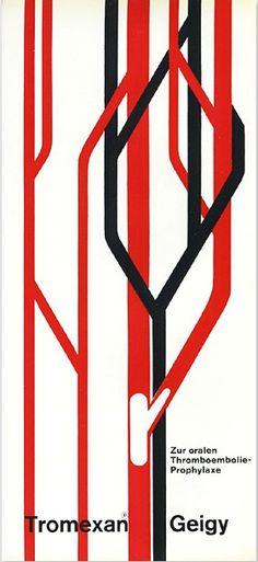 Geigy – Tromexan, c.1958; Designer: Nelly Rudin (b. 1928).