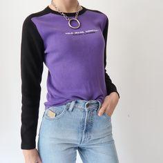 ♥️ Ralph Lauren Polo Jeans vintage jumper in purple ♥️ size 6-8. In great…
