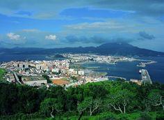 Ceuta un lugar donde el Mediterráneo y el Océano Atlantico se encuentram