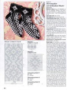 Без названия Knitting Charts, Knitting Socks, Knitting Patterns, Knit Socks, Mitten Gloves, Mittens, Turkish Pattern, Slipper Boots, Fair Isle Knitting