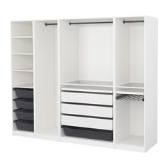 PAX Kleiderschrank - 250x58x201 cm - IKEA