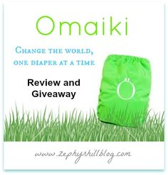 """http://www.zephyrhillblog.com/2013/04/omaiki-aio-diaper-review-giveaway/  Right now, when you buy 5 AIO diapers get the 6th one for free! In the """"comment box' at checkout, tell Omaiki what color you want.  * Enter to Win! *  One reader will receive an Omaiki AIO diaper in choice of color/print and closure (as available)!"""