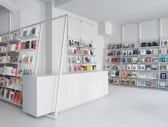 soda.BERLIN Bookshop by Designliga, Berlin – Germany » Retail Design Blog