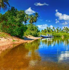 Pontal de Maracaípe - Porto de Galinhas - Pernambuco - Brazil  I want to be HERE. Smile