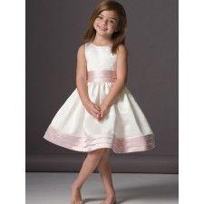 Flower Girl Dress_Light Ivory/Pink