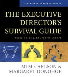 This book provides new insights,inspiration,and tools to meet the real-life challenges and rewards of leading a Non-Profit organization.Written by Mim Carlson and Margaret Donohoe -expirienced nonprofit proffessionals and consultants on non-profit leadership.This vital resource will give you the help you need to develop and strengthen personal ,interpersonal,and organizational effectiveness.
