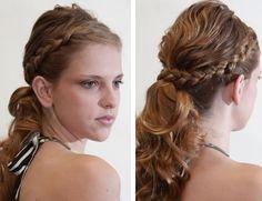 Momento Feminice: Penteado de verão: Rabo de Cavalo