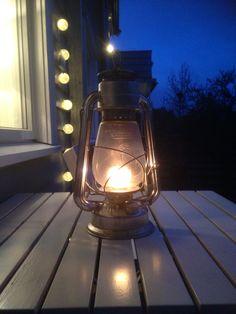 Levende lys for sene kvelder