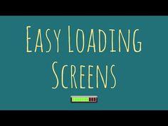Easy Loading Scene / Level Load Screen Progress Indicator - YouTube Unity, Scene, Coding, Easy, Youtube, Youtubers, Programming, Youtube Movies, Stage