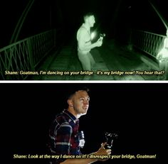 It's his bridge now Goatman. Fear him
