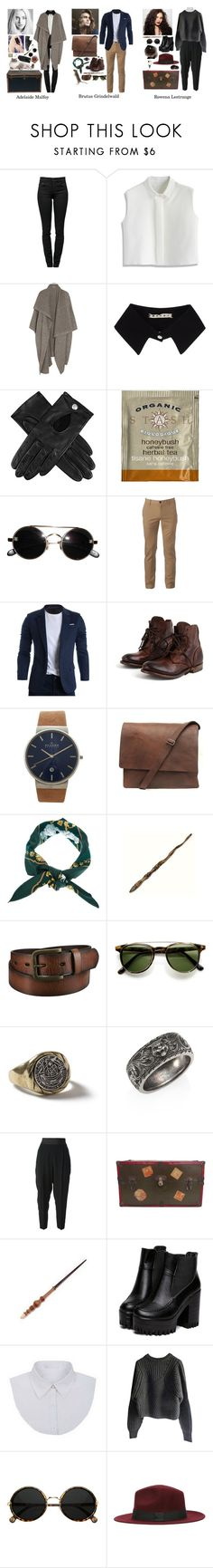 """""""Hogwarts New Generation OCs"""" by mermer1324 ❤ liked on Polyvore featuring Proenza Schouler, Chicwish, STELLA McCARTNEY, Marni, Dents, Urban Pipeline, Skagen, Hermès, Ash and Uniqlo"""