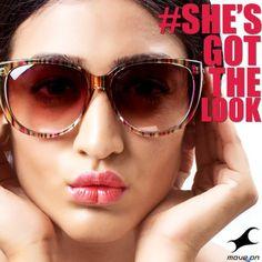 We say the bigger, the better! #ShesGotTheLook #FastrackSunglasses  #Color #Fashion #Big #Oversized