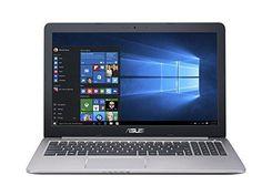 ASUS K501UX 15.6-inch Gaming Laptop (Intel Core i7 Processor 8GB RAM 256GB SSD Hard Drive Windows 10 (64 bit)) Black/Silver Metal