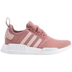 ADIDAS NMD R1 Sneaker für Damen Pink ($12) ❤ liked on Polyvore featuring shoes, sneakers, sports footwear, galaxy print shoes, pink trainers, sport shoes and adidas shoes