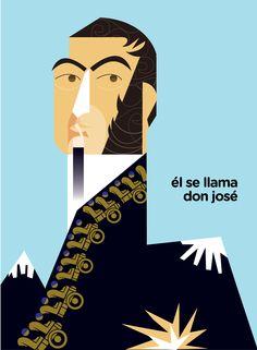 gral. José de San Martin - Pesquisa Google