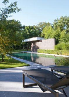 vlj-architecten / poolhouse w-d, zonhoven