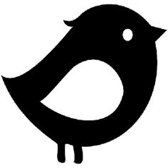 Bird Die Cut Vinyl Decal for Windows, Vehicle Windows, Vehicle Body Surfaces or just about any surface that is smooth and clean Baby Flash Cards, Baby Cards, Black And White Baby, Black And White Pictures, Hilograma Ideas, Baby Quiet Book, Pottery Painting Designs, Baby Images, Cameo