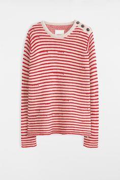 Jade Sweater, cream, Zadig & Voltaire