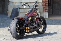 Dyna Street Bob custom
