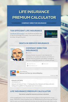 Life Insurance Premium Calculator Life Insurance Premium