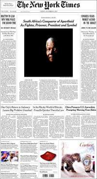 New York Times -  Etats Unis
